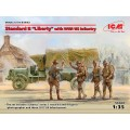 """Standard B """"Liberty"""" with WWI US Infantry"""
