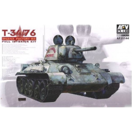 T-34/76 - 1942-43 Factory 183 - Full Interior Kit