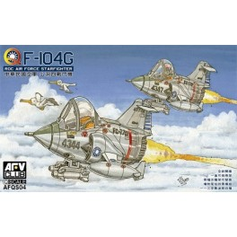 F-104G ROC Air Force Starfighter (2 kits)