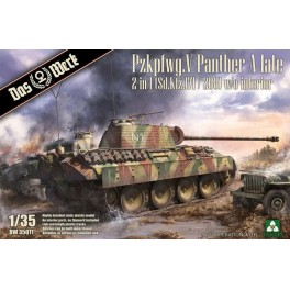 Pzkpfwg. V Panther A late 2 in 1 (Sd.Kfz.171/268)
