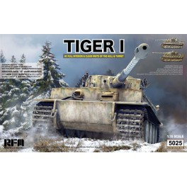 Tiger I early production w/ Full Interior & Clear Parts