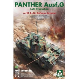 WWII German medium Tank Panther Ausf.G late. prod. w/ IR @ Air Defense Armour