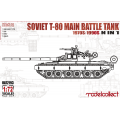 Russian T-80 Main Battle Tank 1970s-1990s