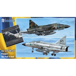 Saab 37 Viggen Duo Pack and Book