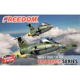 F-104 and TF-104 NATO Star Fighter - Compact Serie - 2 KITS