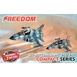 "F-5E and F-5F VFC-111 ""Sundowners"" - Compact Serie - 2 KITS"