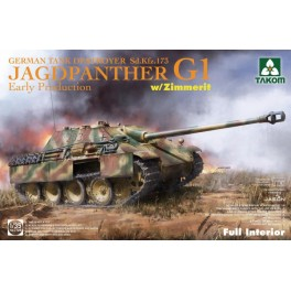 JagdPanther G1 Early  Sd.Kfz.173 German Tank Destroyer Late Production
