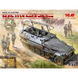 SdKfz 251/6 Ausf.A with Crew, Limited Edition