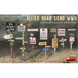 Allied Road Sign WW2 (European Theater of Operations)