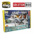 USAF / US Navy Air Superiority Grey Camouflage Solution Box