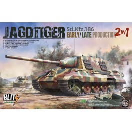 Sd.Kfz.186 Jagdtiger early/late production 2 in 1