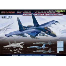 "SU-35S ""Flanker-E"" Multirole Fighter Air to Surface Version"