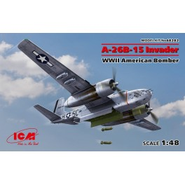 A-26B-15 Invader, WWII American Bomber