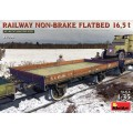 Railway Non-Brake FlatBed 16,5t