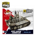 White Winter Camouflage Weathering Solution Set