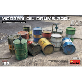 Fuel and Oil Drums 1930-50s