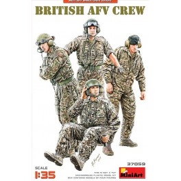 British AFV Crew  (4 Figs.)