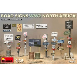 Road Signs WW2 (North Africa)