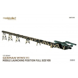 Germany WWII V1 Missile Lauching Position Full Size Version