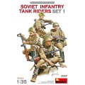 Soviet Infantry Tank Riders  (4 Figs.)