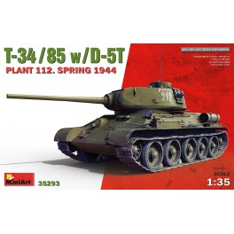 T-34-85 with D-5T . Plant 112. Spring 1944