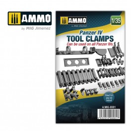 Panzer IV Tool Clamps 1/35