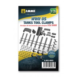 WWI US Tool Clamps 1/35