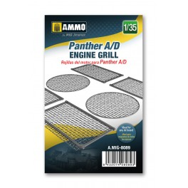 Panther A/D Engine Grilles 1/35