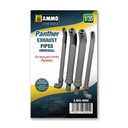 Panther Exhausts Pipes Universal 1/35