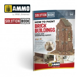 How to Paint Urban Dioramas Solution Book (Multilanguage)