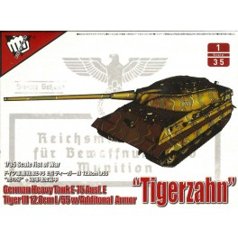 Germany Heavy Tank E-75 with 12.8cm L/55 Tiger III Ausf.E ADDITIONAL ARMOR