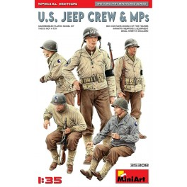 U.S. Jeep Crew & MPs. Special Edition (5 Figs.)