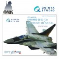 Mig-29 (9-12) (for GWH) INTERIOR 3D* Decal 1/48