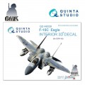 F-15C (for GWH) INTERIOR 3D* Decal 1/48