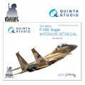 F-15D (for GWH) INTERIOR 3D* Decal 1/48