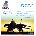 F-14A (for TAMIYA) INTERIOR 3D* Decal 1/48