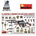 U.S. Weapons and Equipment for Tank Crew & Infantry