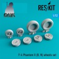 F-4 Phantom II (B,N) Wheels Set 1/72