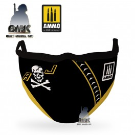 """AMMO FACE MASK """"Jolly Rogers """" (Hygienic protective mask 100% polyester)"""