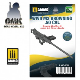 1/35 WWII M2 Browning .50 cal 1/35