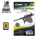 1/35 Moderne M2 Browning .50 cal 1/35