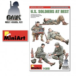U.S. Soldiers at Rest Special Edition (5Figs.)