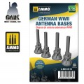 German WWII Antenna Bases Universal 1/35