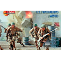 WWII US Paratroopers 1/72
