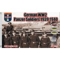 WWII German Panzer Soldiers 1939-1940 1/72