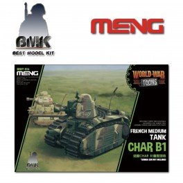 French Heavy Tank Char B1 - World War Toons Serie