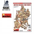 British Soldiers Tank Riders Special Edition (5 Figs.)