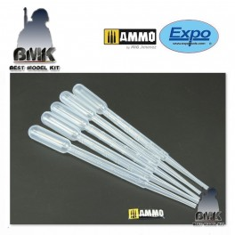 Pack of 5 Measuring Pipettes