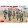 Battle of the Bulge ARDENNES 1944 - 5 figurines