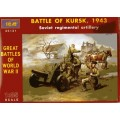 Battle of Kursk 1943 - Soviet Regimental Artllery